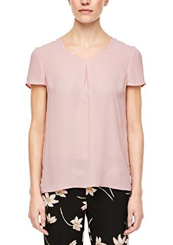 Preisvergleich Produktbild s.Oliver BLACK LABEL Damen 150.10.003.10.100.2040789 Bluse,  Powder pink,  40