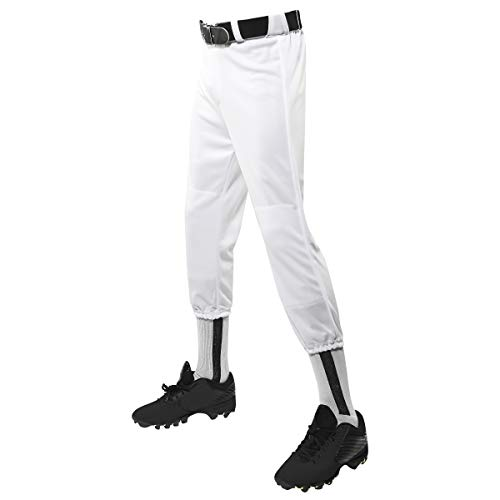 CHAMPRO Performance Youth Pull-Up Baseball Pant with Belt Loops,...