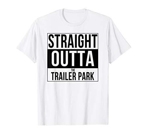 Gerade Outta die Trailer Park reagiert mit T-shirt
