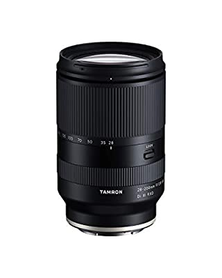Tamron 28-200 F/2.8-5.6 Di III RXD for Sony Mirrorless Full Frame/APS-C E-Mount, Model Number: AFA071S700 by Tamron