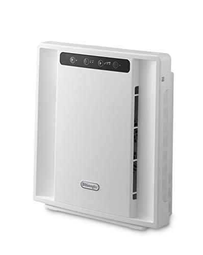 De'Longhi AC75 Purificador de aire, 3 estados de filtración, 25 m², 40 Decibeles, 3 Velocidades, Blanco