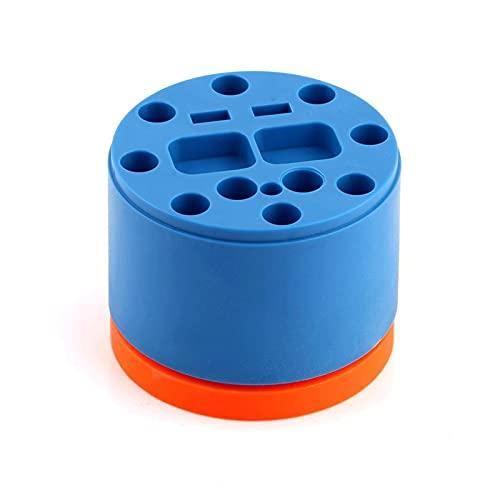 HJTYQS 360 Rotary Magnetic Tools Storage Box for Screwdriver Graver Tweezers Brush Organizer Desktop Storage Rack Phone Repair (Color : Random)