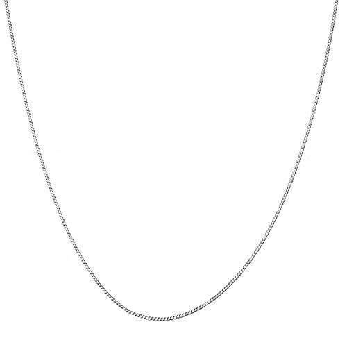 ネックレス メンズ チェーン ブランド シルバー 925 シンプル 細め blackdia シルバー 喜平 チェーン ネックレス 幅1.4mm 長さ50cm