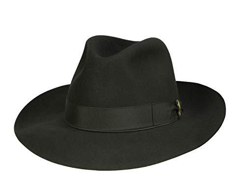 Borsalino Chapeau Fedora N° Art. 110757 Homme - Noir