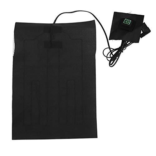 Alfombrillas calefactoras de tela calefactora eléctrica con temperatura ajustable para calentar la cintura lumbar o calentar mascotas