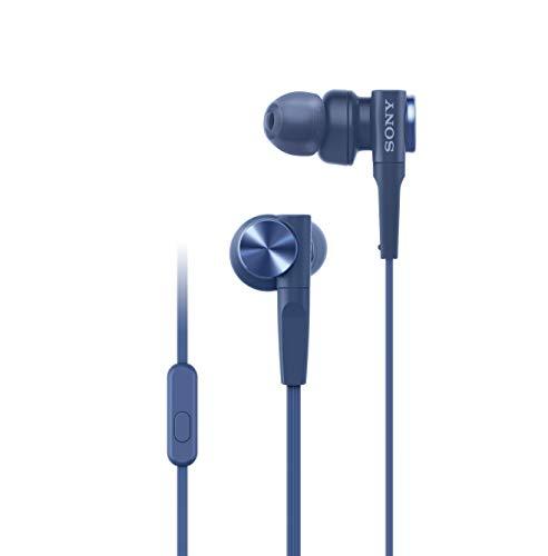 Sony MDR-XB55AP In-Ear-Kopfhörer (Extrabass, Mikrofon) Blau