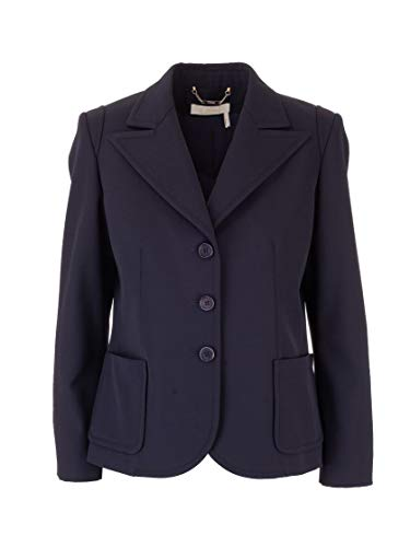 Luxury Fashion | Chloé Dames CHC20SVE2906348A Donkerblauw Polyester Blazers | Lente-zomer 20