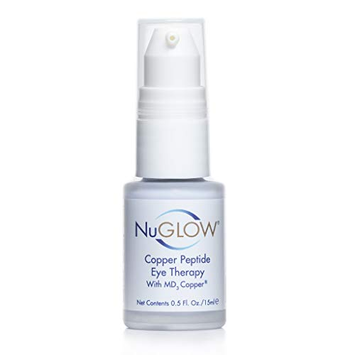 NuGlow Copper Peptide Eye Therapy With MD3 Copper