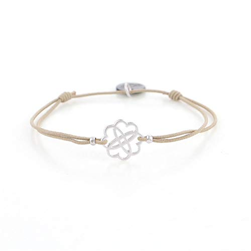 Pulsera Brazalete, Joyeria Regalo, Badu Khaki Elastic Rope Bracelet Golden Charms Silver Skeleton Charming Bracelets Fashion Jewelry Gift For Girls Wholesale 29401