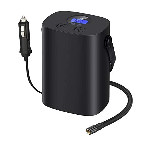 Mini Bomba Compresor Inflador Aire Batería Digital - Bomba Compresor De Aire...