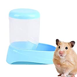 ZUOLUO Automatic Pet Feeder Pet Feeder Hamster Feeder Automatic Hamster Cage Bowl Rabbit Accessories Rat Food Bowl Pet Feeding Bowls Small Animal Feeder