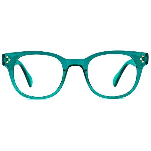 Mimoeye Blue Light Blocking Glasses Computer Glasses for Women Men Kids Lightweight Eyeglasses Frame