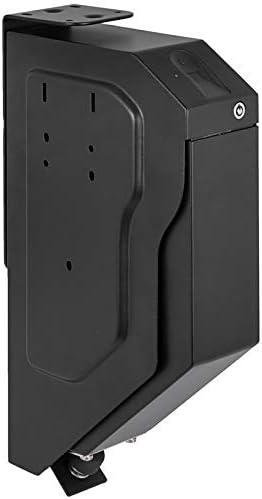 VEVOR Pistola Caja Fuerte de Seguridad Acero, con 2 Llaves y Cerradura de Combinación, Caja de Almacenamiento de Pistola con Teclado Digital, Caja de Arma Portátil con Bóveda de Llave 3,3 kg