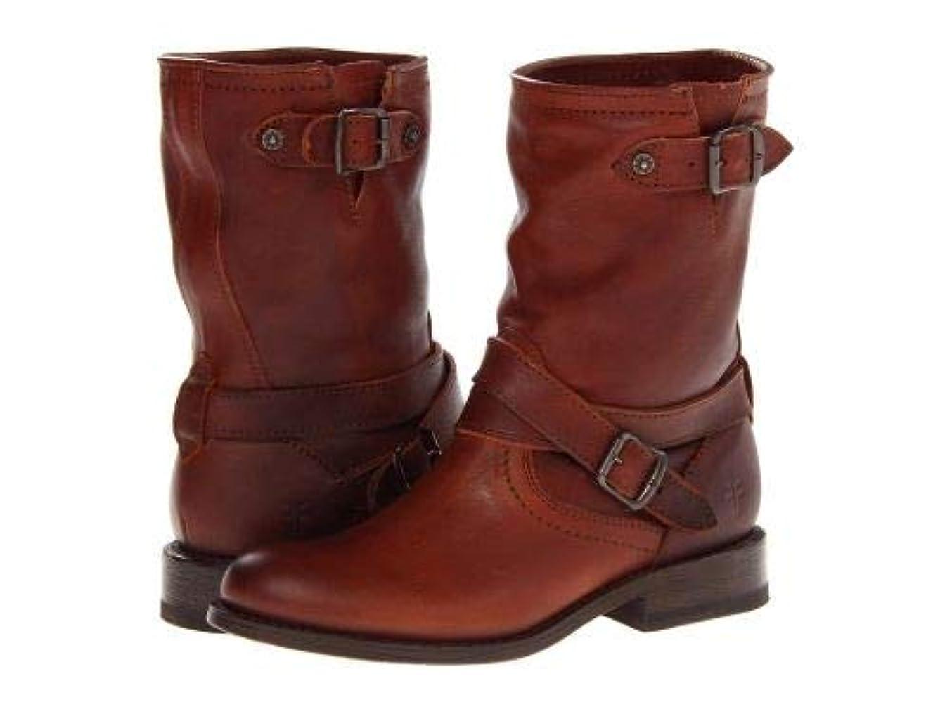 インシュレータ価値村Frye(フライ) レディース 女性用 シューズ 靴 ブーツ ライダーブーツ Jayden Cross Engineer - Whiskey Tumbled Full Grain [並行輸入品]