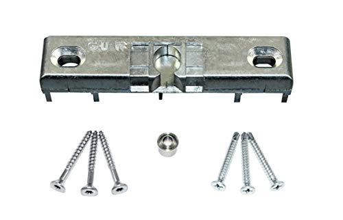 GU Türschnäpper/Balkontürschnäpper/Fensterschnäpper 6-33689/4663 (K-17228-00-0-1) inclusive Rollzapfen & SN-TEC Montagematerial