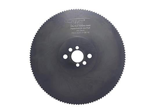 Metall-Kreissägeblatt Hss DMO5 250 x 2,0 x 32 mm 128 Zähne Sägeblatt Kreissägeblatt Metallsägeblatt