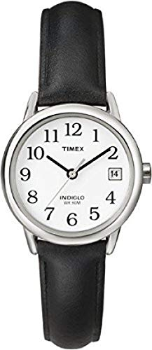 Timex Damen-Armbanduhr Analog Leder T2H331D7