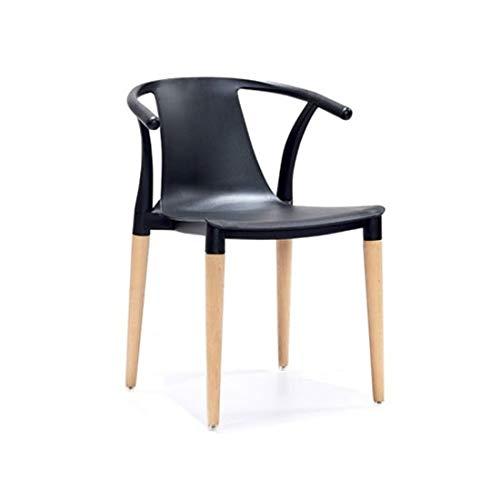 YUTRD ZCJUX Moderna Minimalista Legno Solido Sedia da Pranzo for Adulti scrittorio della casa Adatti a Sedia Indietro Chair Restaurant Lounge Chair (Color : Sparks FY 1)