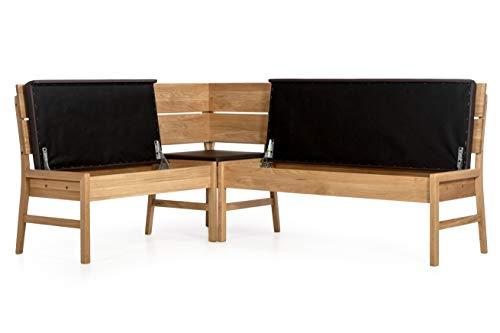 Amazon Marke –Alkove – Hayes – Moderne Eckbank mit gepolsterter Sitzfläche, Wildeiche - 6