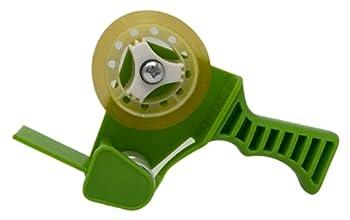 Tag-A-Room Mini Tape Gun Dispenser Green with Clear Tape