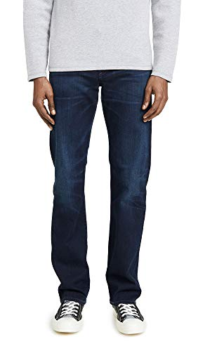 Citizens of Humanity Men's Sid Classic Straight Jeans in Miles Wash, Miles, Blue, 34