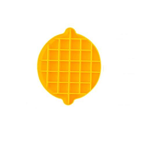 YWSZJ 2 stücke Freezer Eisschale Silikon Eisform Eiswürfelablage Stapelbare Easy Release-Form mit Deckel für Hausküche (Color : A)