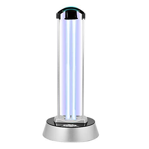 LEICKE UV Desinfektionslampe mit OZON | UVC-Sterilisationslampe Antibakterielle Rate 99%, UV-Lampe, Sterilisator, für Home-Anwendungen in Schulen, Büros, Wohnzimmern, Toiletten, Haustier-Bereiche