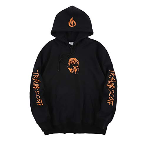 Travis Scott Hip Hop Rapper Hoodie Pullover Hooded Hoody