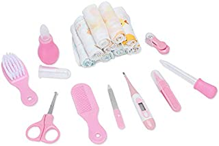 Baby Hygiene Kit with New Design 2019, 10pcs/Set Health Care Portable Newborn Baby Grooming Kit - Baby Nursery Kit, Newborn Scissors, Bush Cutter in Baby, Kids Nail Kits, Baby Kit Nail Care