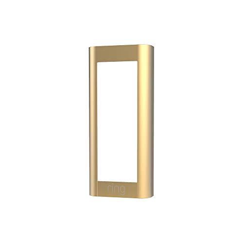 Ring Video Doorbell Pro 2 (2021 release) Faceplate - Gold Metal