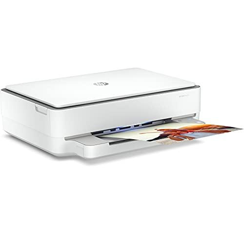 HP Envy 6020 - Impresora multifunción tinta, color, Wi-Fi, Bluetooth 5.0, compatible con Instant Ink (5SE16B)