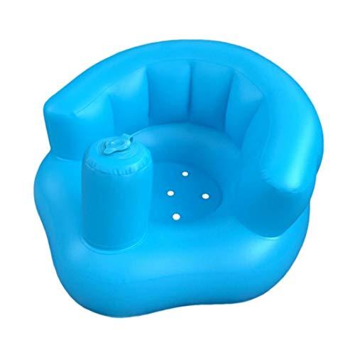 Baby Learning-sitzmulti Funktion Aufblasbare Sitzhilfe Pool Floatbads Hocker Kleiner Sofa Tragbarer Esszimmerstuhl Für Baby-kind-1pc Blau