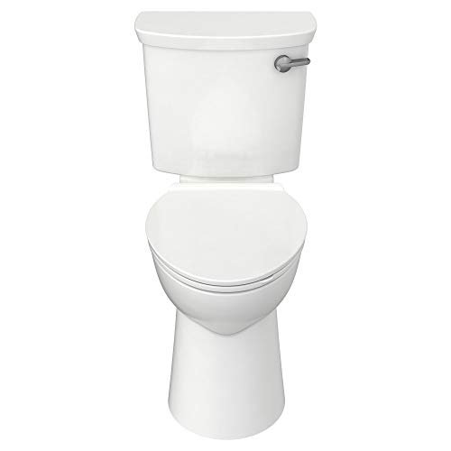 American Standard 209AA138.020 Yorkville VorMax Height Elongated Toilet with Right-Hand Trip Lever, White