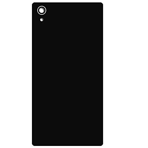 UU FIX Tapa de Batería para Sony Xperia Z5 E6853 Dual E6833 E6883(Negro) de la Reemplazo Parte Trasera Battery Cover con Kit Reparación.