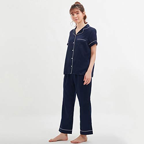 YL pyjama dames zomer-woonkleding pyjama vrouwelijk dun gesneden katoen lief katoen korte mouwen losse tweedelig pak