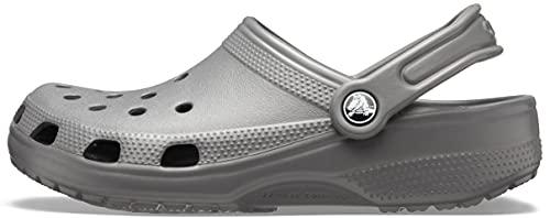Crocs Classic, Zuecos Unisex Adulto, Slate Grey, 36/37 EU