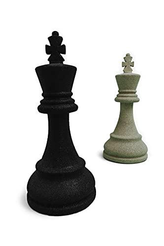 Rey ajedrez Gigante (Negro)