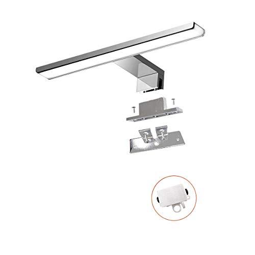 Luz led para espejo 230V| Lámparas de baño | Iluminación para espejo de pared | Iluminación para espejo | Aplique de pared para baño | Aplique de baño de 30cm | IP44 | 7.2W | 470lm ⭐