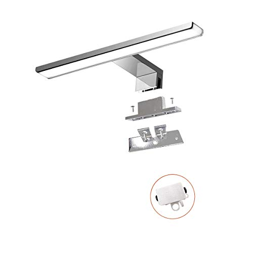 Luz led para espejo 230V| Lámparas de baño | Iluminación para espejo de pared | Iluminación para espejo | Aplique de pared para baño |...
