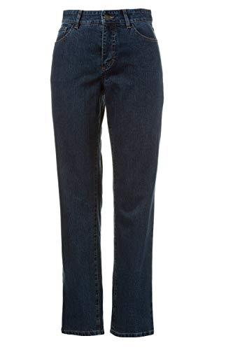 GINA LAURA Damen bis Größe 3XL | Jeans Carla | Komfortjeans in Kurz- und Normallänge | Slim-Fit | 5-Pocket-Form | darkblue 46 713172 93-46