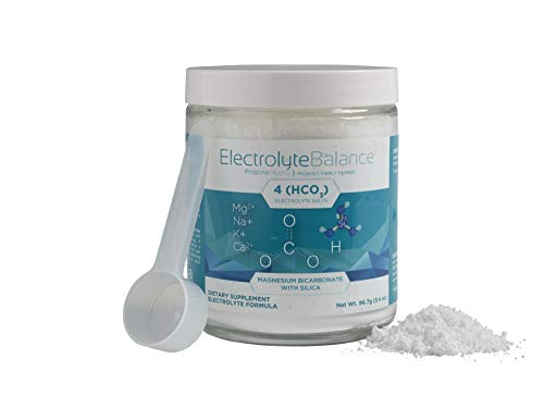 Electrolyte Supplement by LivePristine - Great Tasting Electrolyte Supplement Powder with Magnesium Bicarbonate and Silica - for replenishing Critical nutrients and Calcium Assimilation - 90 Servings