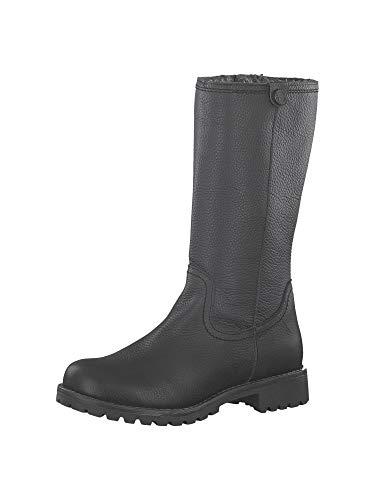 Tamaris Damen 1-1-26478-23 Hohe Stiefel, Schwarz (Black 1), 38 EU