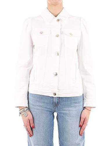 Pinko Betty 1 Blazer Casual, Z08_Bianco/Perla Bianca, 36 para Mujer