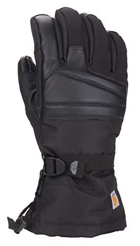 Carhartt Men's Cold Snap Insulated Work Glove, black, XL