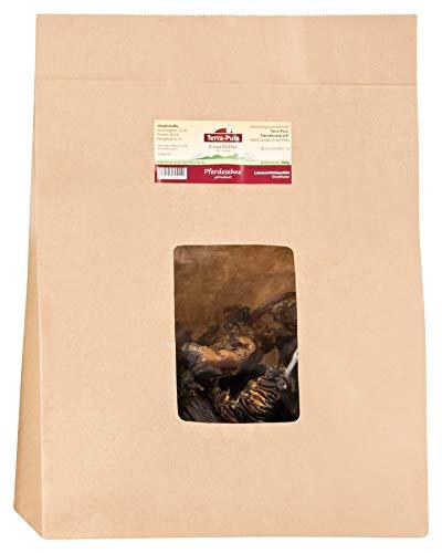 TERRA-PURA Tiernahrung Pferdesehnen, Kausnack für Hunde, Zahnpflege, 1 x 500 g