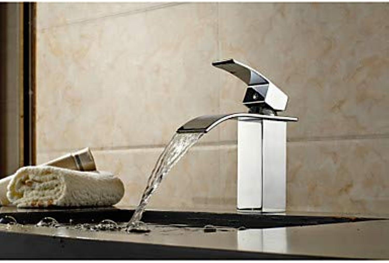 ZHANGHONG Badewanne Wasserhahn - Art Deco Retro Chrom Bodenmontage Keramikventil Badewanne Dusche Mischbatterien Einhand EIN Loch