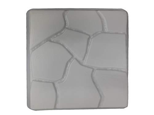 Flagstone Degisn 18in Sq Stepping Stone Concrete Mold 2029