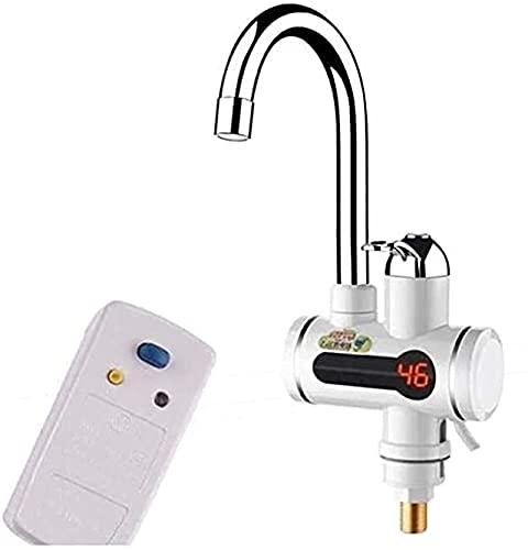 ZGNB Grifos eléctricos Grifo del Calentador de Agua eléctrico instantáneo Pantalla Digital Grifo de Calentamiento rápido Grifo Calentamiento rápido Cocina fría y Caliente Baño (Tamaño: