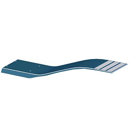 LordsWorld - Astralpool - 00076 elástico Trampolín Modelo Dolphin Color Azul Claro 1,6 x 0,35 - Agua Trampolines Piscina Juegos - Diversión Agua y Deportes - 00076 trampolín