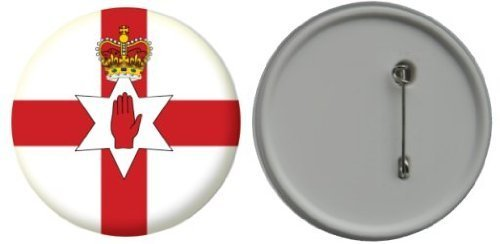 MadAboutFlags Button/Badge Flagge Fahne Nordirland - 58mm